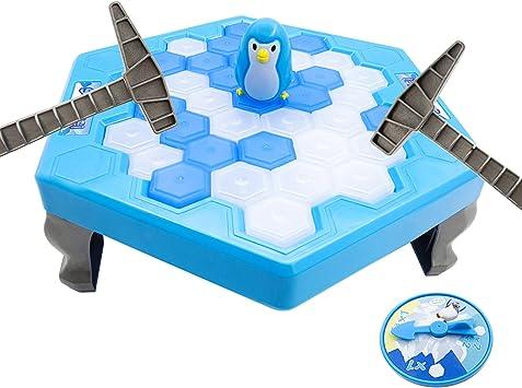 Los juegos de mesa pingüino del partido para romper el hielo para niños de los niños de la familia Desarrollo Intelectual de Bella Bays: Amazon.es: Juguetes y juegos