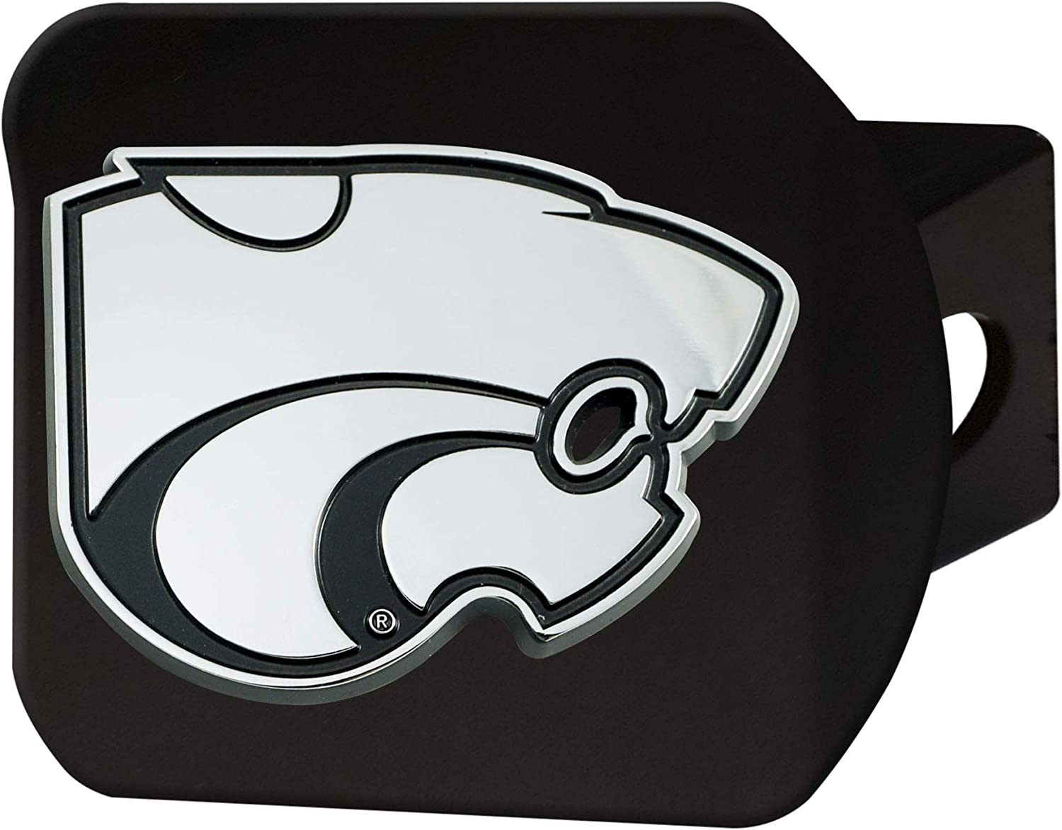 FANMATS NCAA Unisex-Adult Hitch Cover - Black