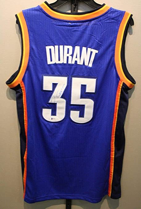 online store 9d73c 05eea Kevin Durant Kd Okc Thunder Autographed Signed Adidas Nba ...