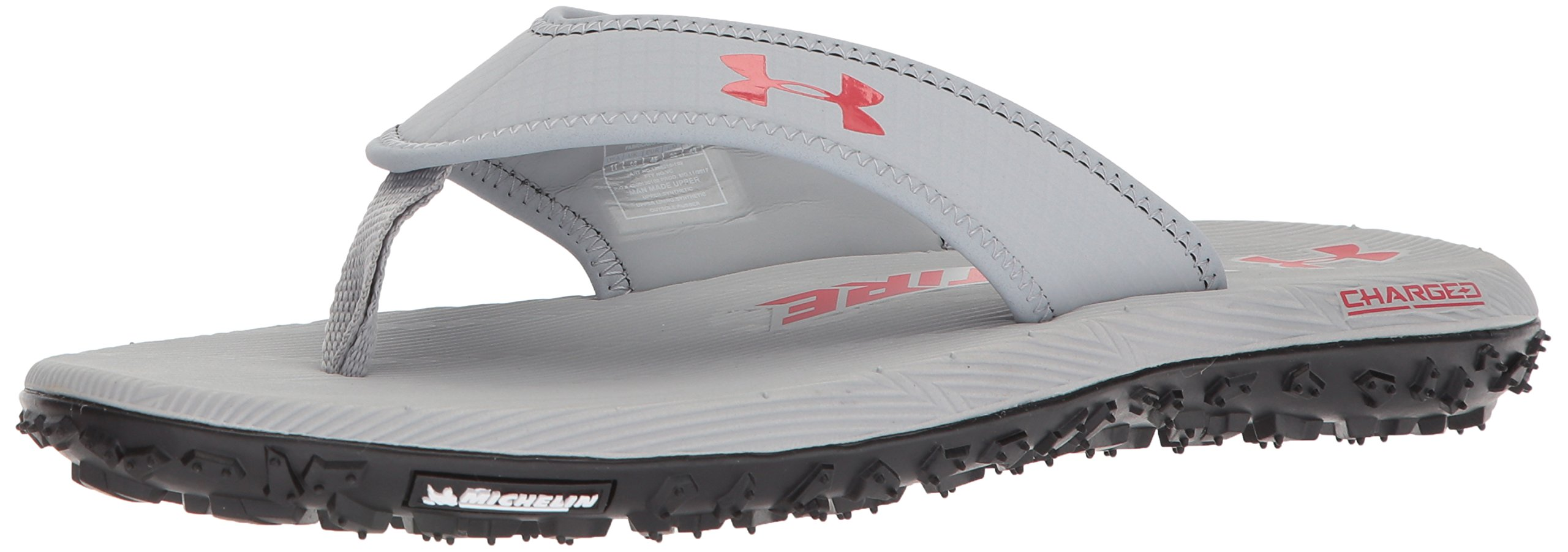 559fb330ee4e Galleon - Under Armour Men s Fat Tire Flip-Flop