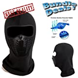 Active Wear Cold-Weather Mask for Men and Women ( Black )