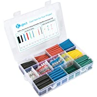 530-Piece Kuject Self-Solder Wire Connectors and Heat Shrink Tubing Kit