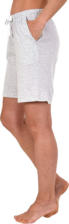 NORMANN W/ÄSCHEFABRIK Damen Bermuda Pyjama Hose kurz Streifenoptik 191 224 90 903 Mix /& Match