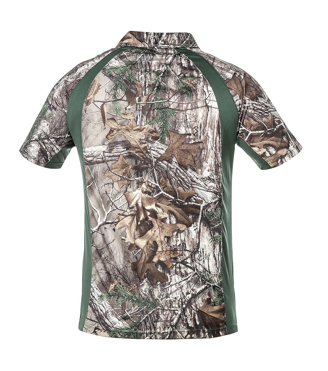 Mens SS Active Polo Shirt Realtree/®