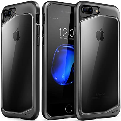 IPhone 8 Plus Case 7 Clear Scratch Resistant Transparent Back Cover