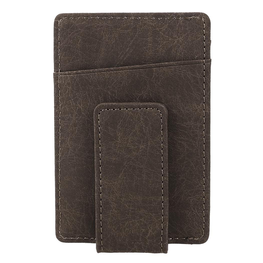 FANEO Bifold Mini Slim Walle for men Front Pocket Card Wallet for men by fold wallets for men Wallets