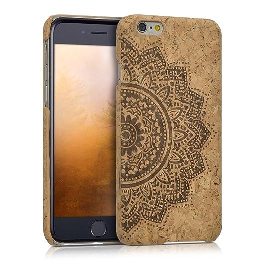 9 opinioni per kwmobile Cover per Apple iPhone 6 / 6S- Back cover Case protettiva in sughero