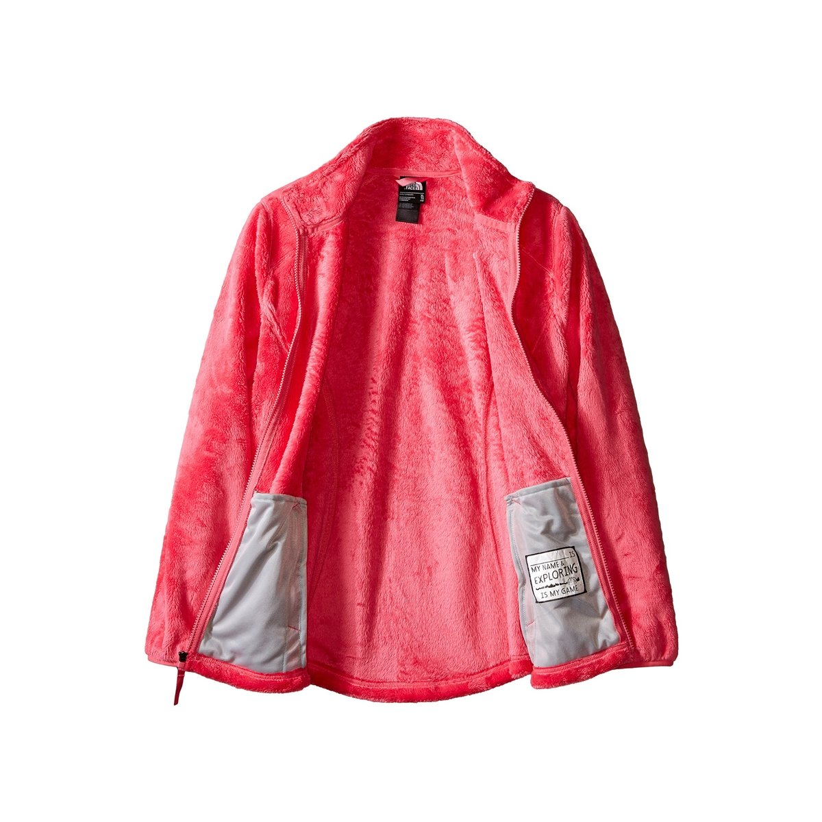 North Face Girls Osolita Jacket, Cha Cha Pink,L M US