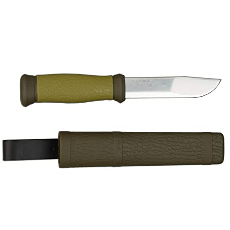 Morakniv Mora 2000 - Cuchillo de cuchilla fija - acero inoxidable