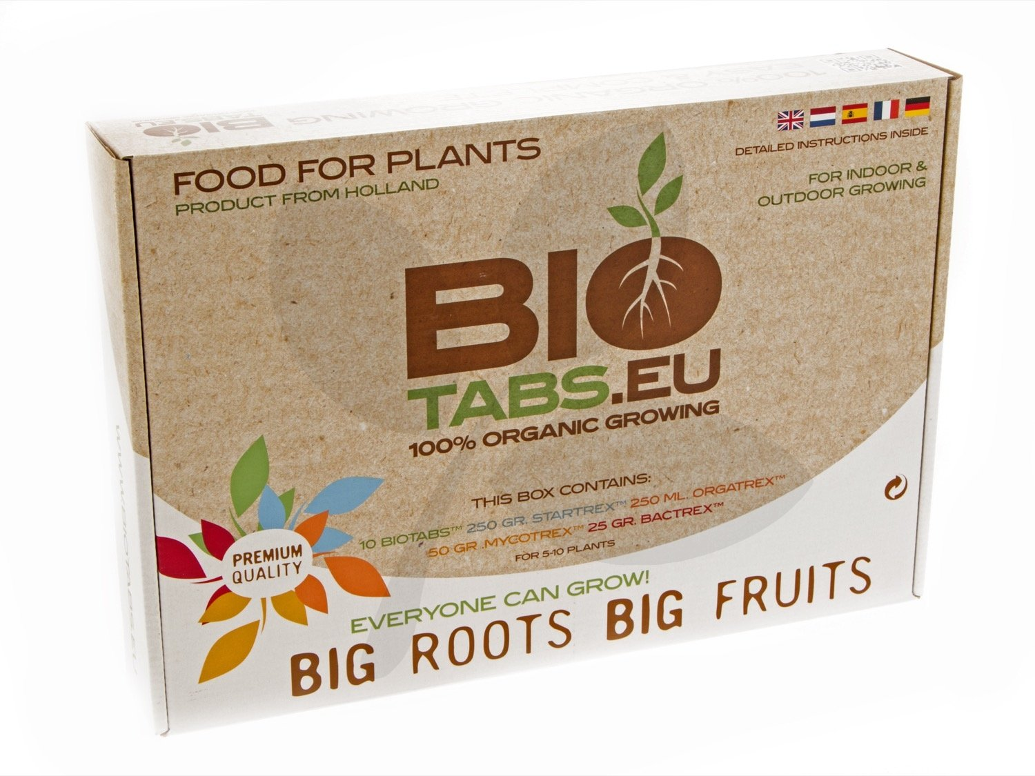 BioTabs Starter Kit, 100% Organic 5-10 Plant Kit - Perfect For Autopots Etc.