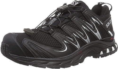 Salomon XA Pro 3D W - Zapatillas para mujer, Negro (Black / Black / White), 36 EU: Amazon.es: Zapatos y complementos