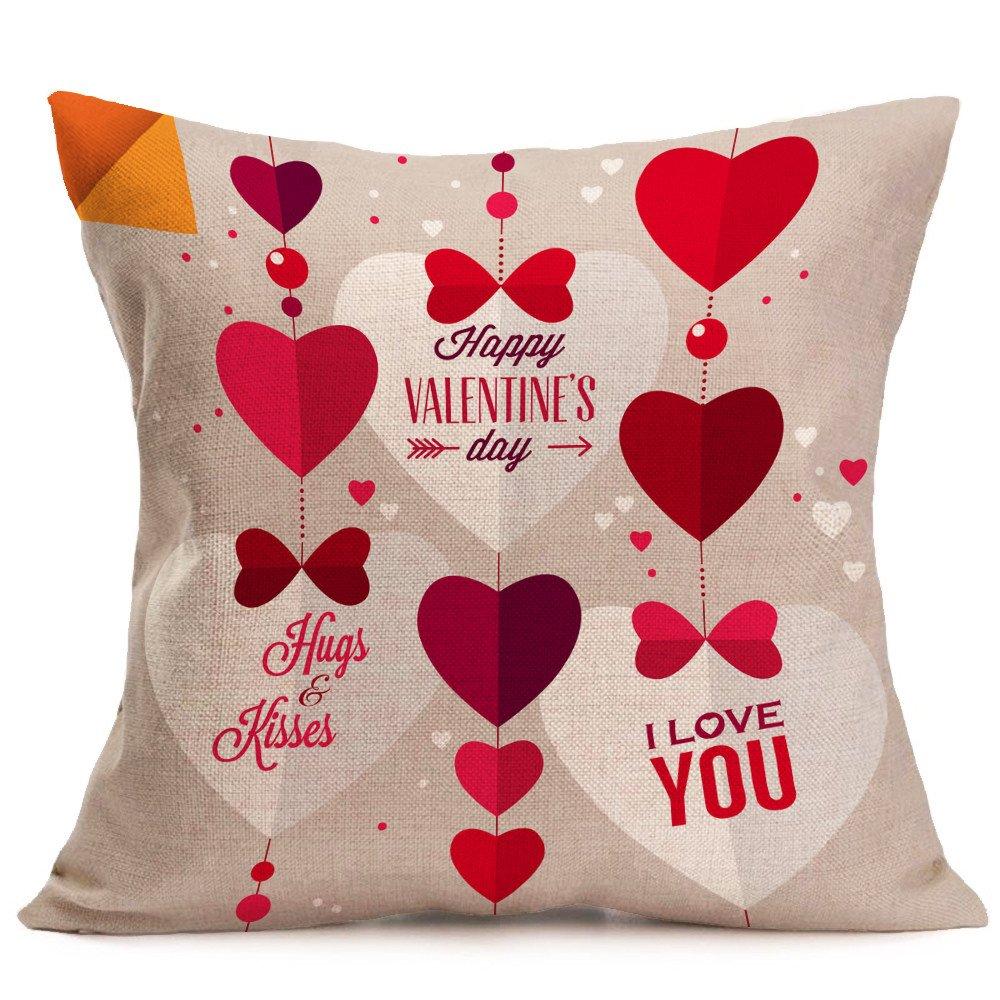 Weiliru Pillowcase for Hair and Skin - Cotton Bed Pillowcase with Hidden Zipper, Standard Size Pillow Cases