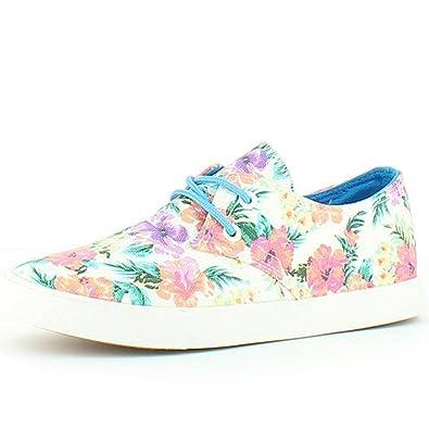 f90eff77dd86 Heavenly Feet Alexa White Floral Shoes