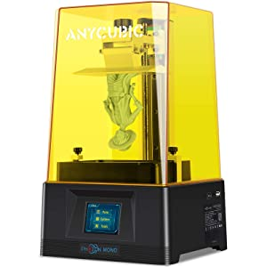 ANYCUBIC Photon Mono 3D Printer, UV LCD Resin 3D Printer Fast Printing with 6.08'' 2K Monochrome LCD, Off-line Print 5.11