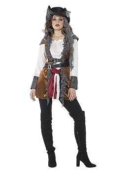 Generique Disfraz de Pirata rebelde Mujer XL: Amazon.es: Juguetes ...
