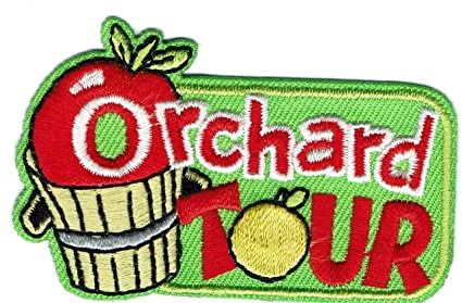 Amazon com: Girl Boy Cub Apple Orchard Tour Fun Patches Crests