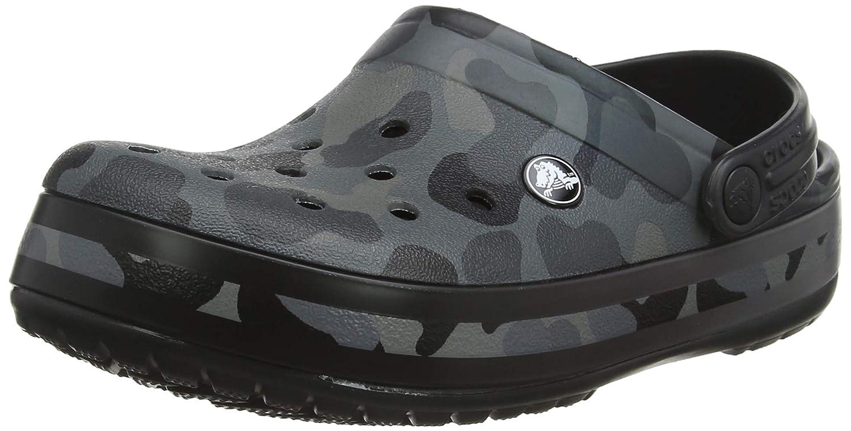 Grigio (Slate grigio nero 0dy) Crocs Crocbe Seasonal Graphic Clog, Zoccoli Unisex – Adulto