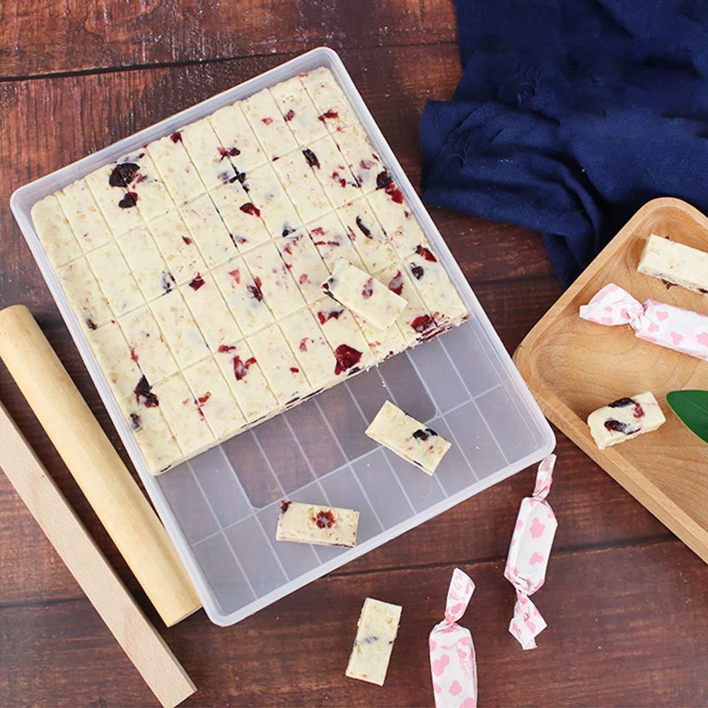 Show DIY Tools Buen Juego de moldes de Silicona antiadherentes para Hacer turrones de Bricolaje