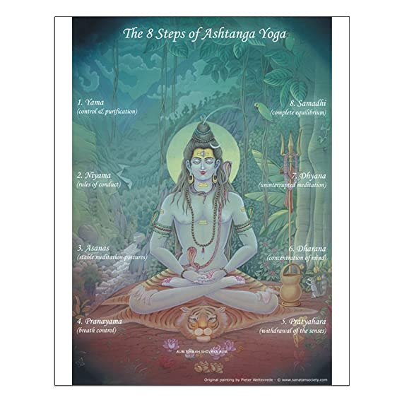 CafePress - Ashtanga Yoga Poster for Teaching - 16