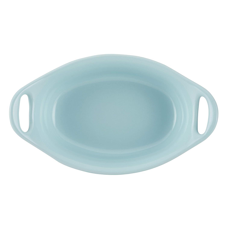 Gray Rachael Ray 47855 2-Piece Stoneware Au Gratin Set