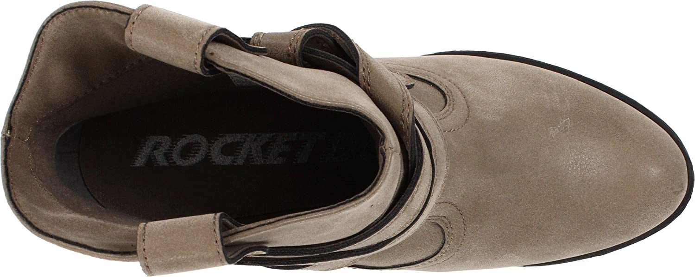 Rocket Dog Women's Sayla Vintage Worn PU Western Boot