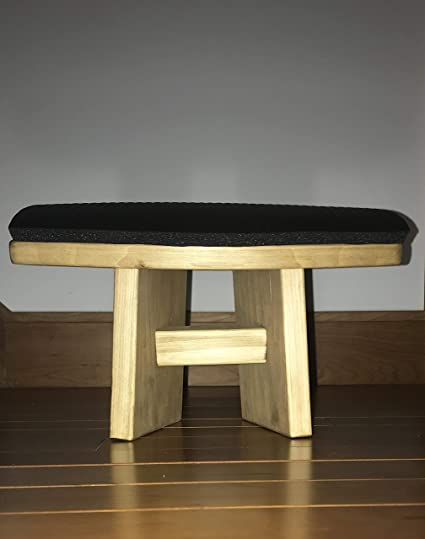 Incredible Sky By Divya Meditation Bench Canadian Pine Kneeling Stool Andrewgaddart Wooden Chair Designs For Living Room Andrewgaddartcom
