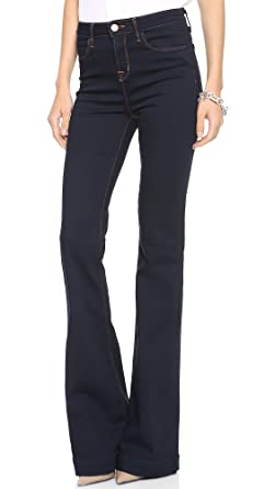 Amazon.com: J Brand Women's The Doll High Waist Bell Bottom Jean ...