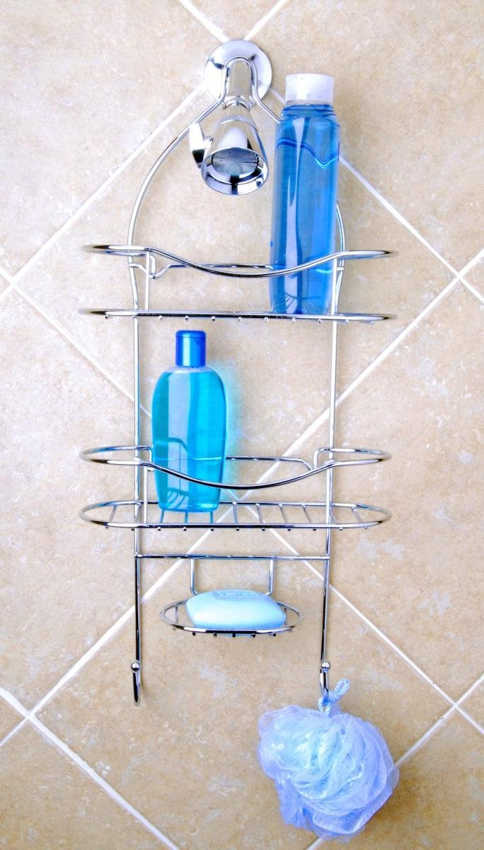 Totally Bath Vertical Fit Shower Caddy, Chrome: Amazon.ca: Home ...