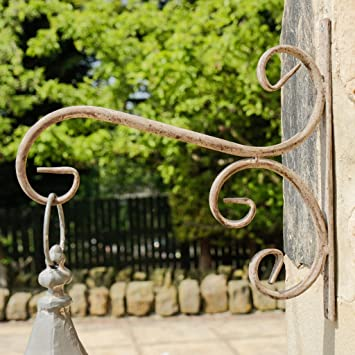 Shabby Chic Distressed Style Metal Wall Hook, Perfect for holding ...