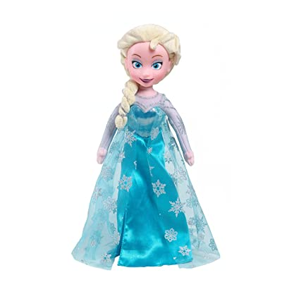 Disney Frozen Elsa Plush, Medium: Toys & Games [5Bkhe1903735]