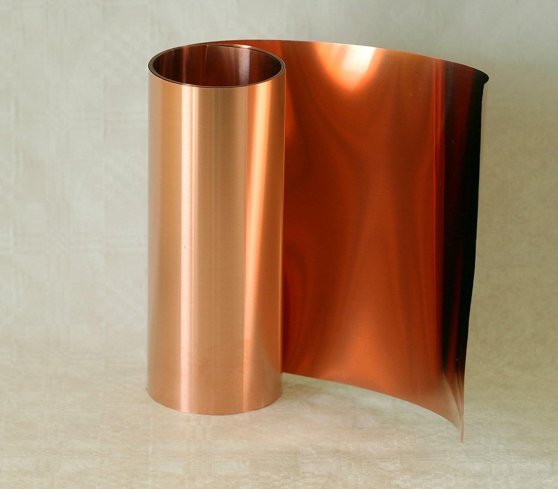 Copper Foil, 0.1 X 300 mm, 3 m Rolle 0.1X 300mm 3m Rolle Blechmaennle