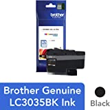 Brother Genuine LC3035BK, Single Pack Ultra High-Yield Black INKvestment Tank Ink Cartridge, Page Yield Up to 6,000 Pages, LC3035, Amazon Dash Replenishment Cartridge
