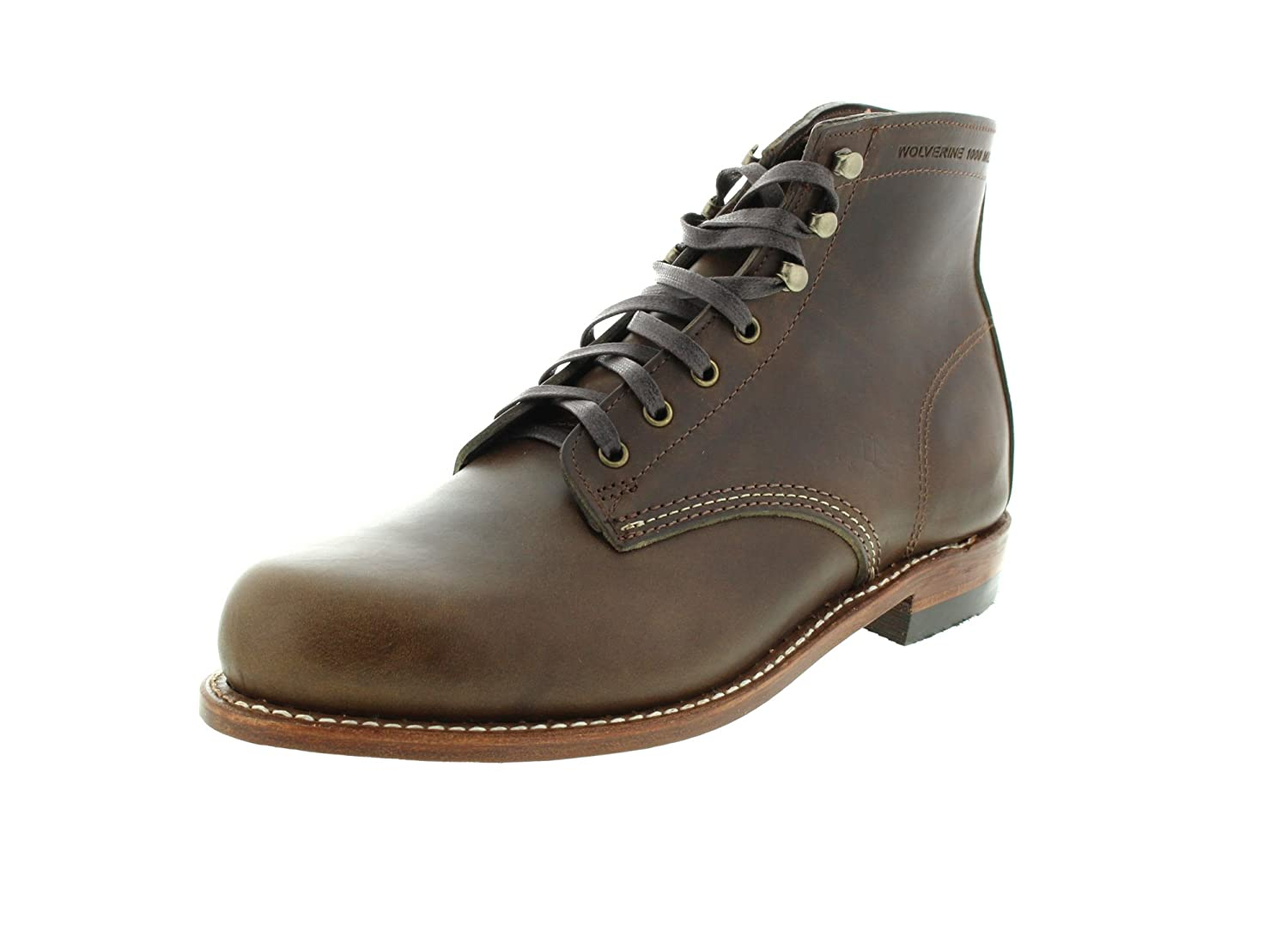 Wolverine 1000 Mile Men's Wolverine 1000 Mile Boots B01N9HAMW9 7 D(M) US|Dark Olive Leather