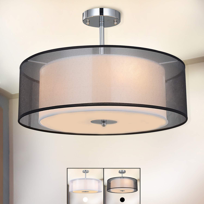 Lámpara de techo, SPARKSOR Foco para techo, Lámpara colgante de techo iluminación, Luz