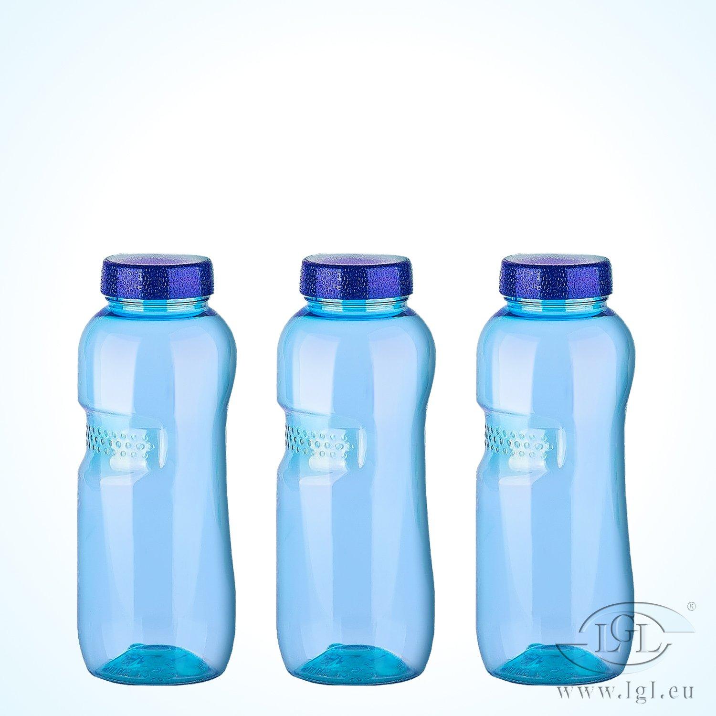 3 x 0,5 Liter Wasserflaschen aus Tritan - BPA-frei Greiner