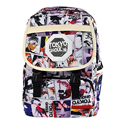 YOYOSHome Tokyo Ghoul Anime Kaneki Ken Cosplay Bookbag Backpack School Bag: Computers & Accessories