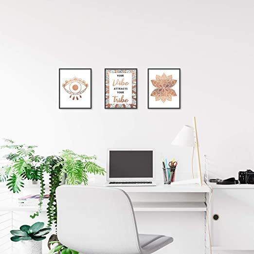 Amazon.com: Brooke & Vine Boho - Póster decorativo para ...