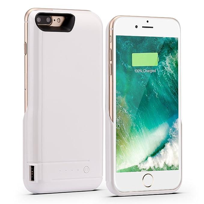 iPhone 7 Plus recargable caso, peyou 8200 mAh Caso de carga ...