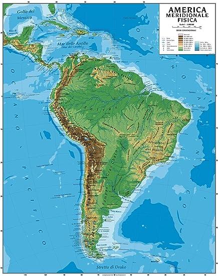 Cartina Fisica Del Nord America.Cartina Usa Fisica