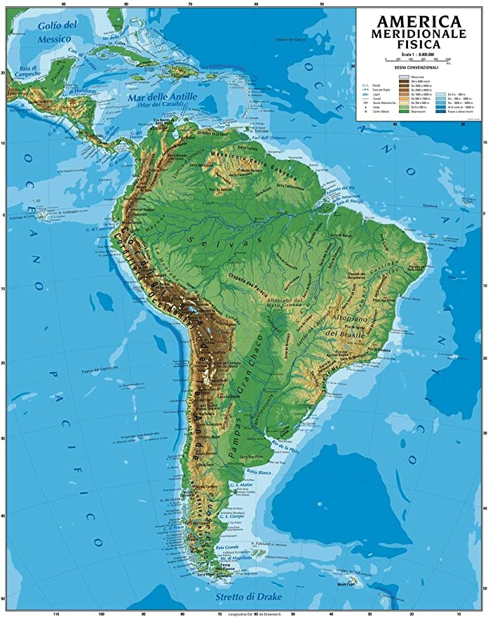 India Meridionale Cartina Geografica.Carta Geografica Murale America Meridionale 100x140 Bifacciale Fisica E Politica Amazon It Cancelleria E Prodotti Per Ufficio
