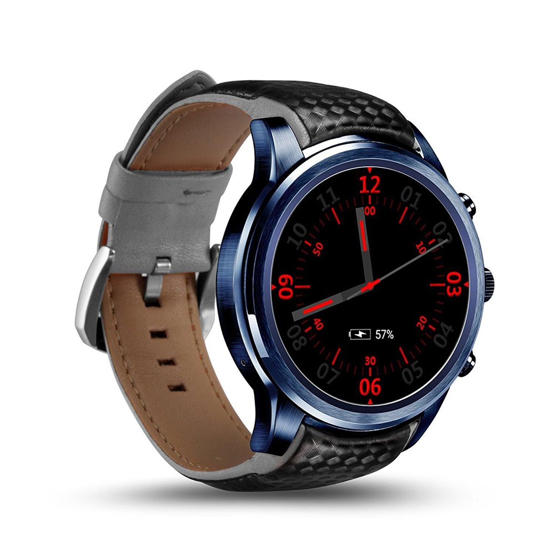 Amazon.com: LEMFO 3G Smart Watch Phone OLED Screen WiFi ...