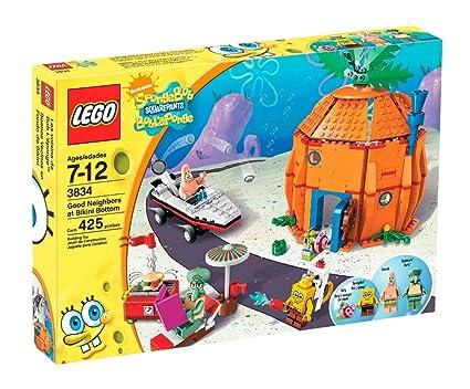 Amazon Nickelodeon Lego Good Neighbors At Bikini Bottom Toys