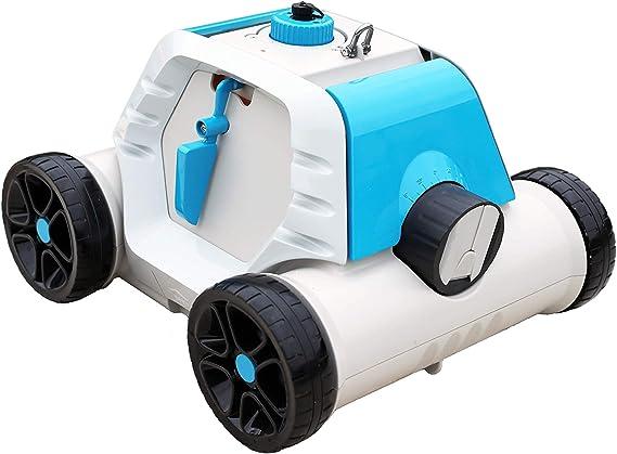 Bestway Thetys - Robot eléctrico autónomo de Piscina, con batería Recargable, para Piscinas de Fondo Plano: Amazon.es: Jardín