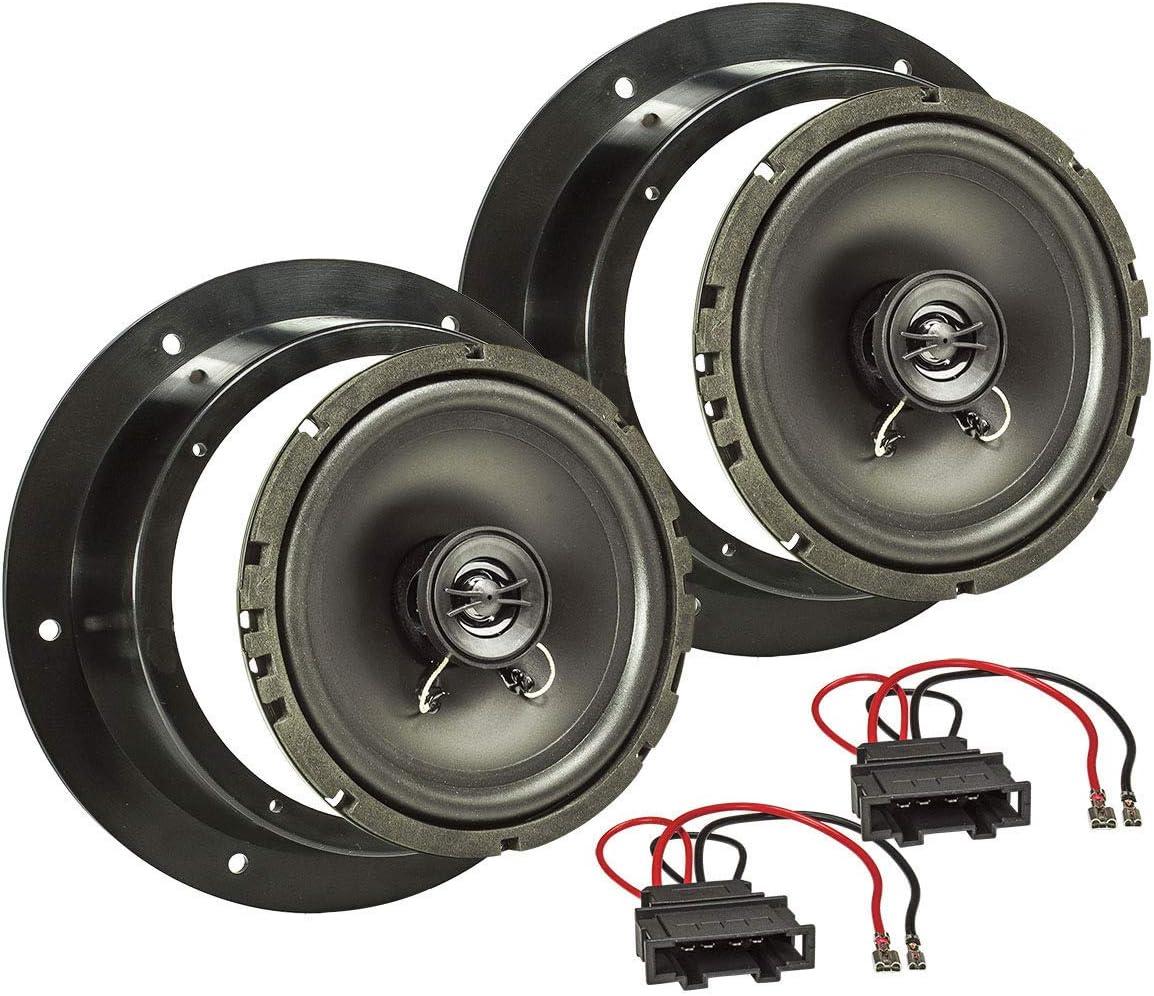 adapter rings pods 240W VW Passat Front Door Speakers Pioneer car speakers