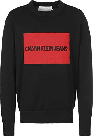 e4b2a3c37 Calvin Klein Sweatshirts For Men, Black M: Amazon.ae