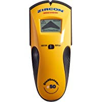 Zircon StudSensor e50 Electronic Wall Scanner / Edge Finding Stud Finder / Live AC WireWarning Detection