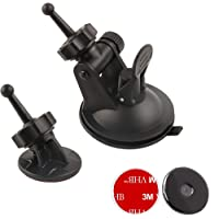 Dosili Dash Cam Suction Cup Mount, for Garmin Dash cam 45 55 65W 46 56 66W and Speak, Plus 010-12530-00, 010-12530-05