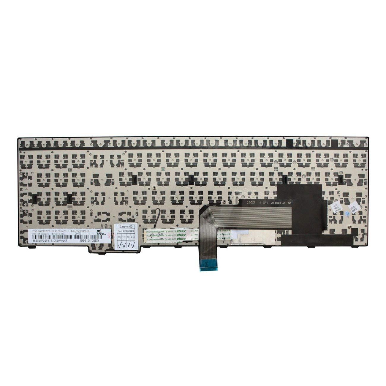 ACOMPATIBLE Replacement Keyboard for Lenovo Thinkpad E550 E550C E555 E560  E565 Laptop