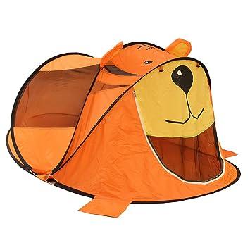 SURREAL Kids Orange Tiger Indoor Outdoor Pop Up Play Tent  sc 1 st  Amazon UK & SURREAL Kids Orange Tiger Indoor Outdoor Pop Up Play Tent: Amazon ...