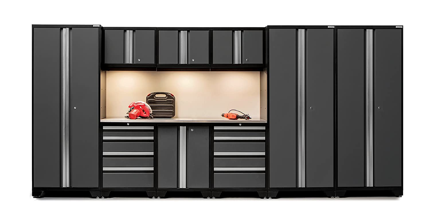 newage products bold 30 series stainless steel storage set 10 piece gray amazoncom